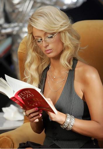 "Paris Hilton Reading Sun Tzu's ""The Art of War"" - The Adventures ..."