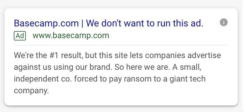 Every Company Branding in danger because of this Google policy 5