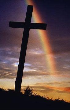Image result for rainbow cross