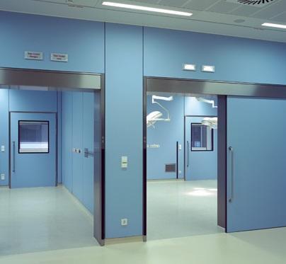 Chất lượng cửa tự động bệnh viện tốt