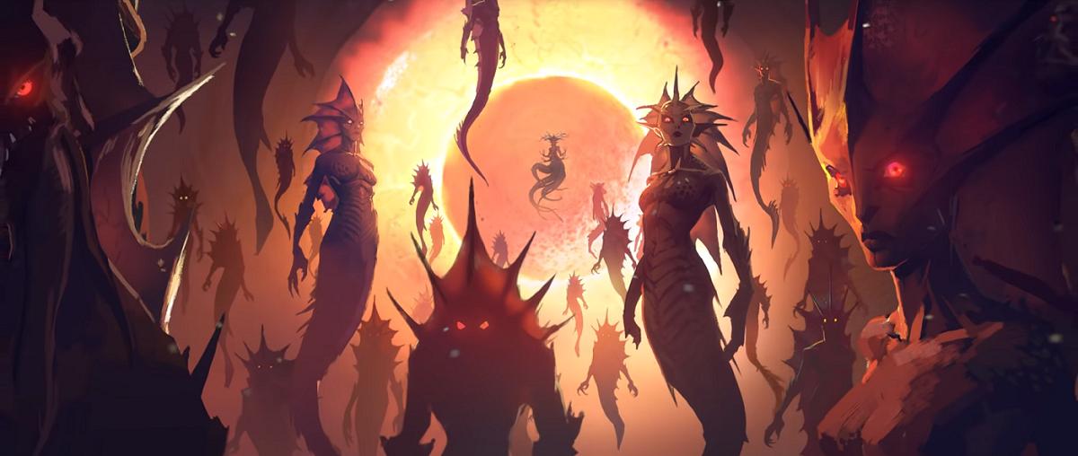 azshara  przemiana elfów w nagi