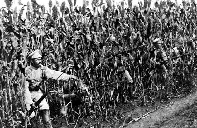 Русские солдаты в годы японской войны