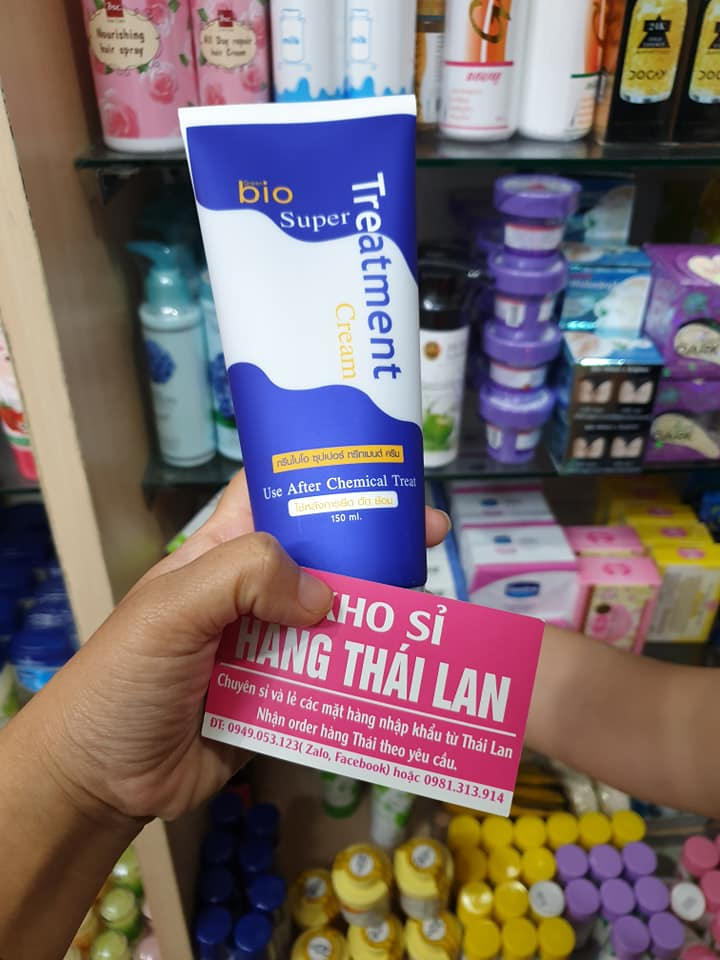 Kem ủ tóc phục hồi BIO Treatment của spa Thái Lan
