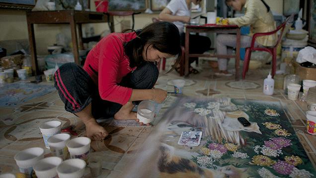 Arts Gems Gem Paintings Create Opportunities Art Meets Jewellery