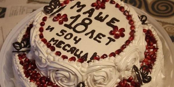 как красиво писать на торте
