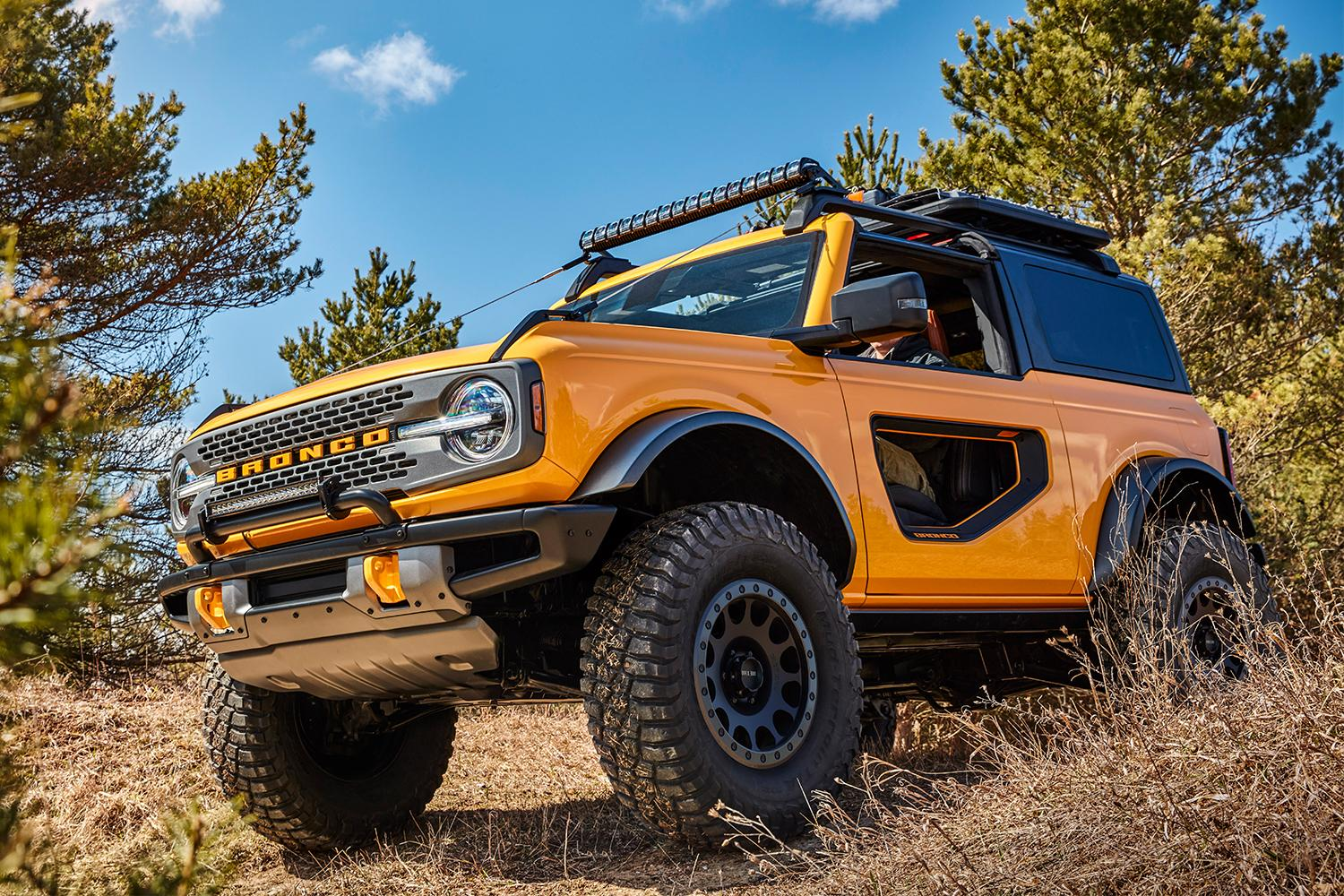 The New 2021 Ford Bronco Isn't Just an SUV, It's a ...
