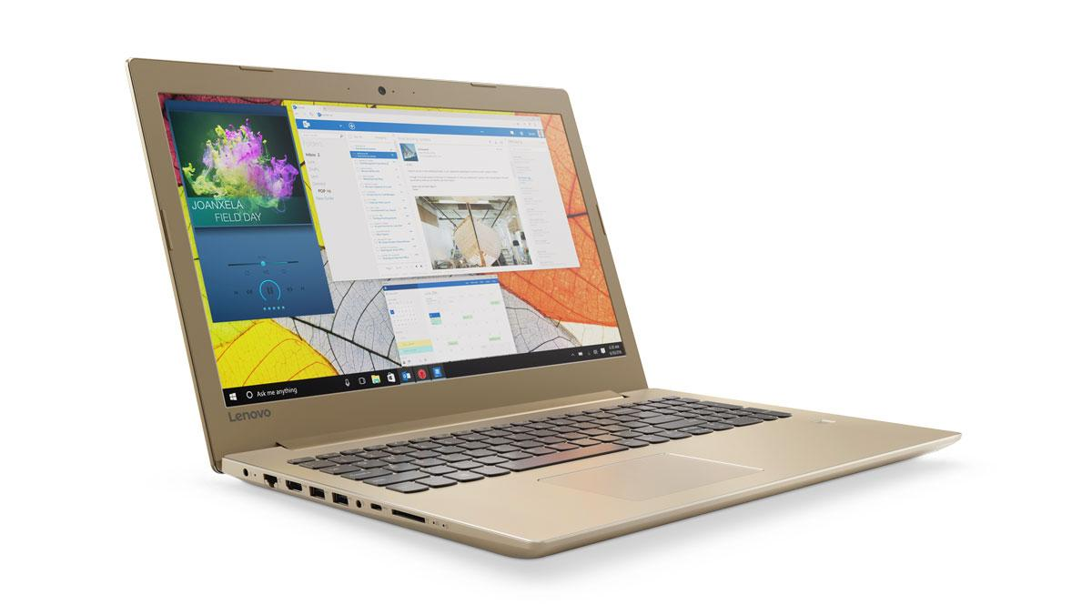 Фото 3 - Ноутбук ThinkPad X260 (20F6S04X00) Ноутбук Lenovo IdeaPad 520-15IKB Golden (80YL00LBRA)