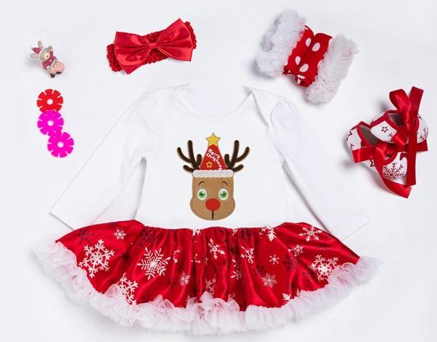 Sukienka dla dziewczynki na święta