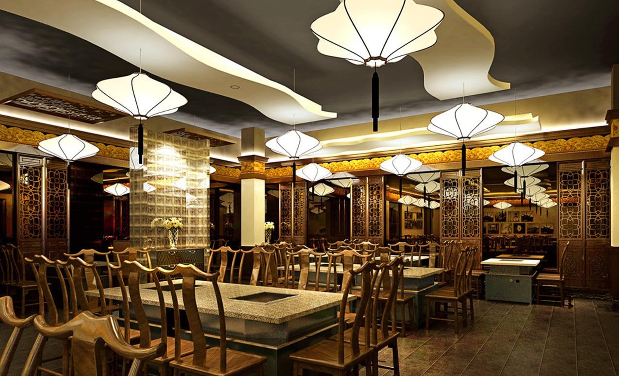 Đèn trang trí tô điểm cho không gian nhà hàng