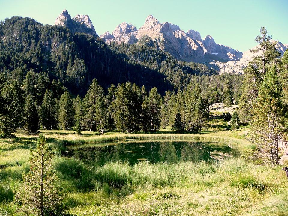 Valle De Benasque, Montaña, Pirineos, Lago, Landscape
