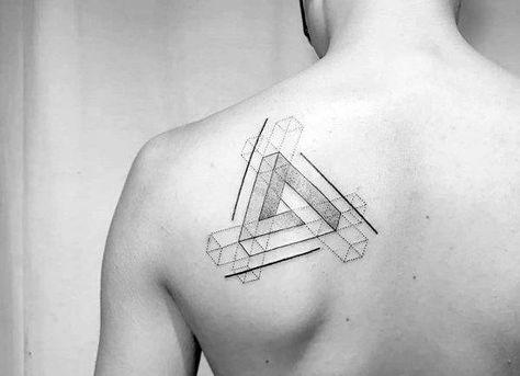 ลายสักสามเหลี่ยมหัวไหล่ 10