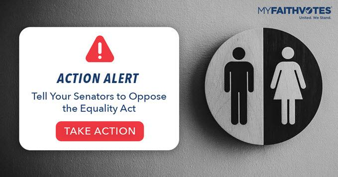 Tell Your Senators to Oppose the Equality Act