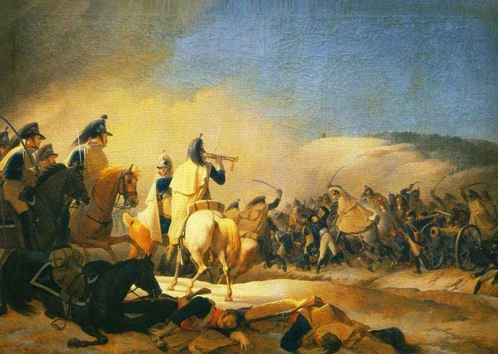 кавалерийская атака
