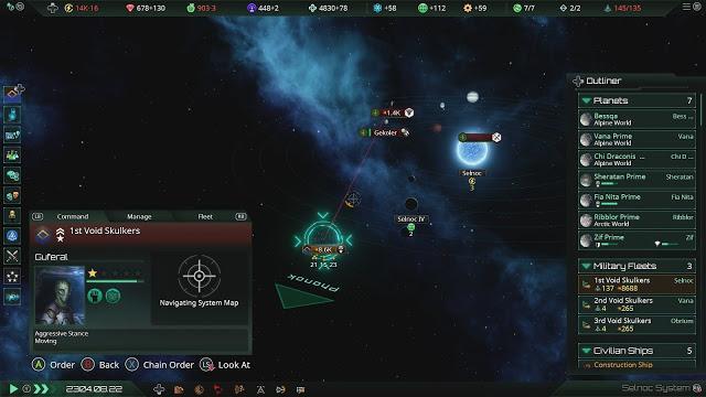 Análisis de Stellaris console edition en playstation 4