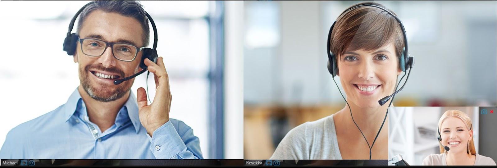 Función de captura de pantalla en WebMeeting 3CX