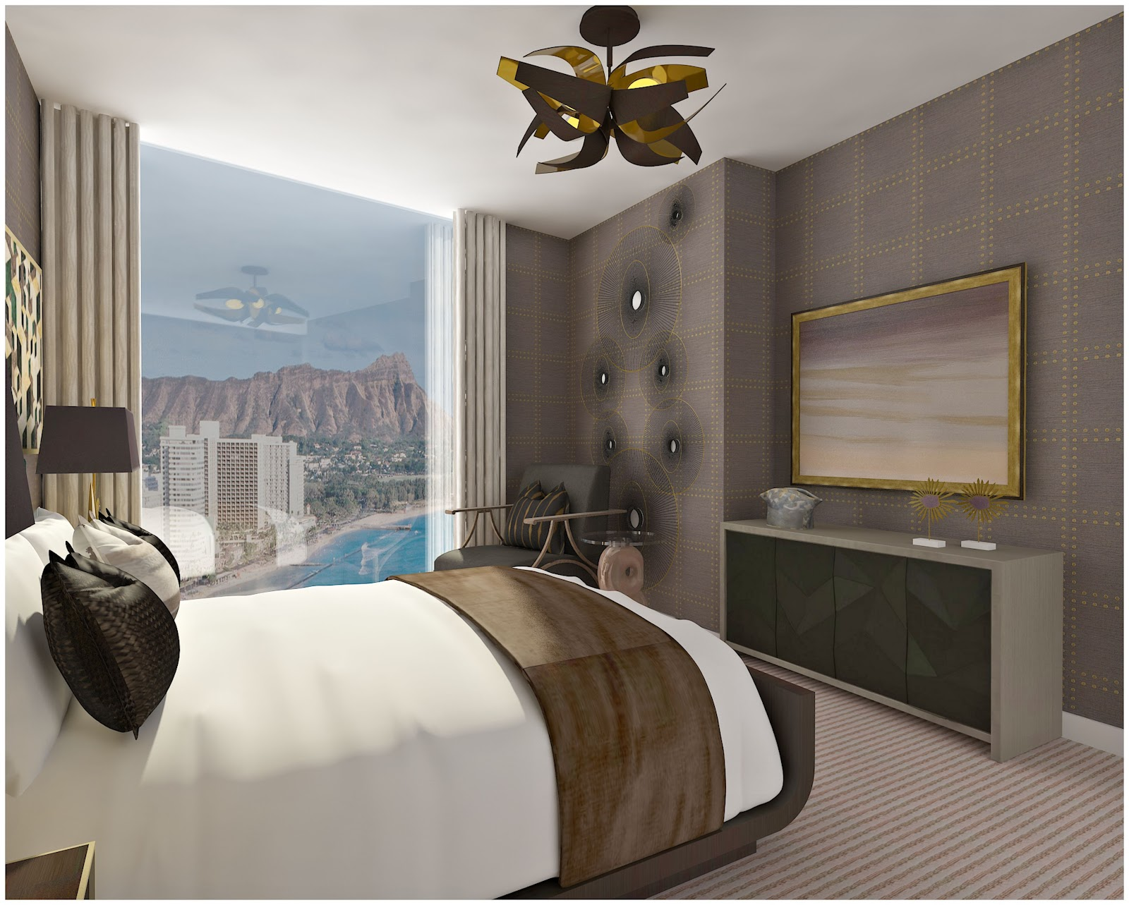 Interior Design Project -Anaha Tower Contemporary Remodel at CIH Design