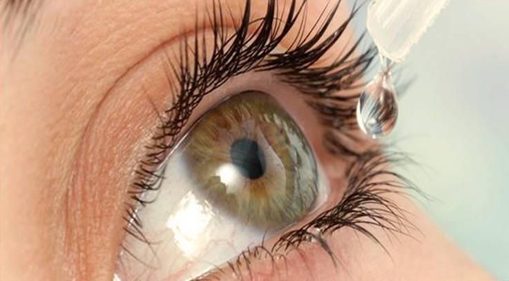 увлажняющие капли от сухости глаз