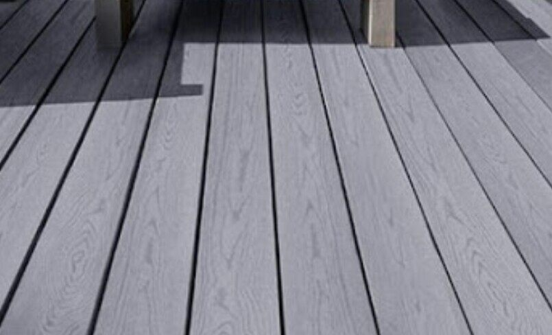 coolest decking material