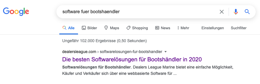 Google SEO Optimierung