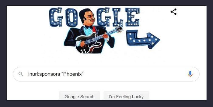 "Google Search Operator-inurl:sponsors ""Phoenix"""