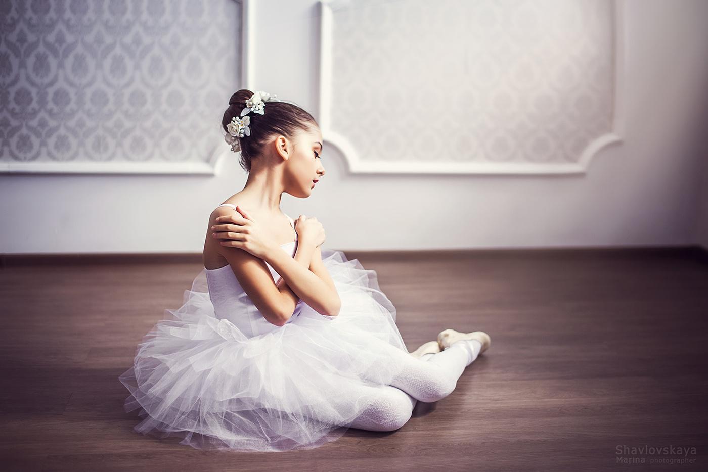 Девочка балерина