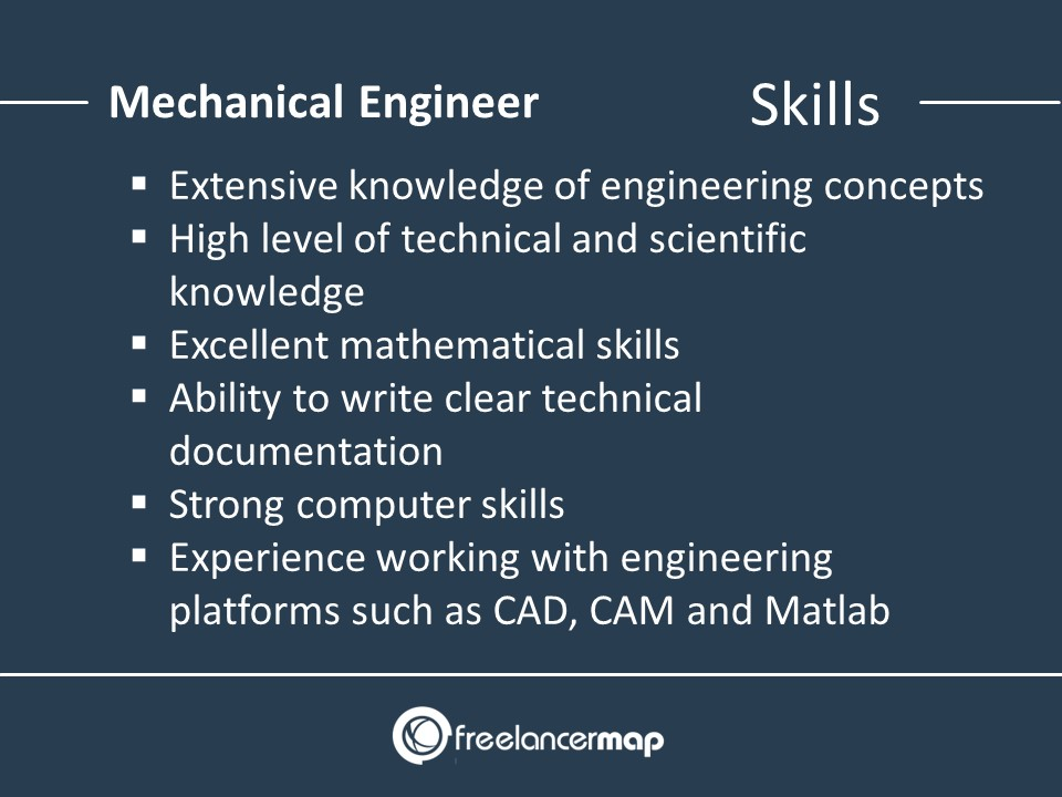 Skills of a mechanical engineer