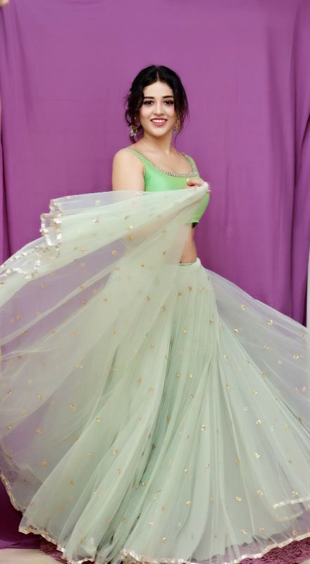 Priyanka Jawalkar in Ethnic Wear For The Inauguration of Pantaloons Store Navel Queens