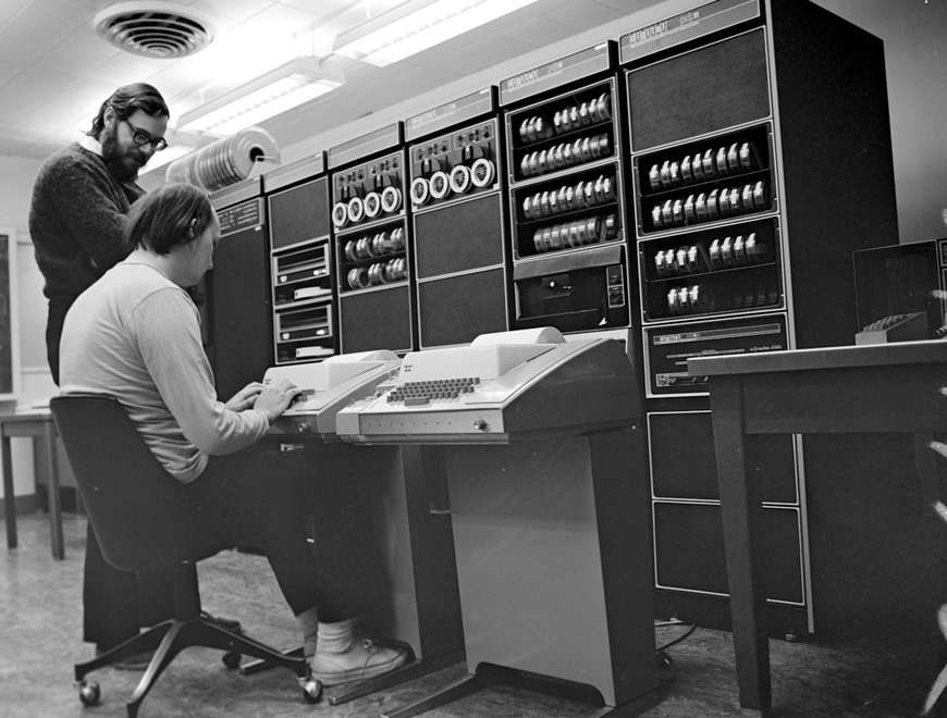 UNIX at Bell Labs