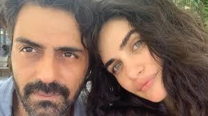Rampal with his girlfriend Gabriella.