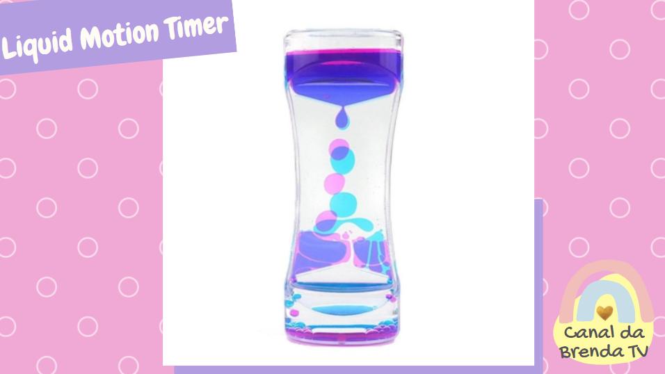Liquid motion timer