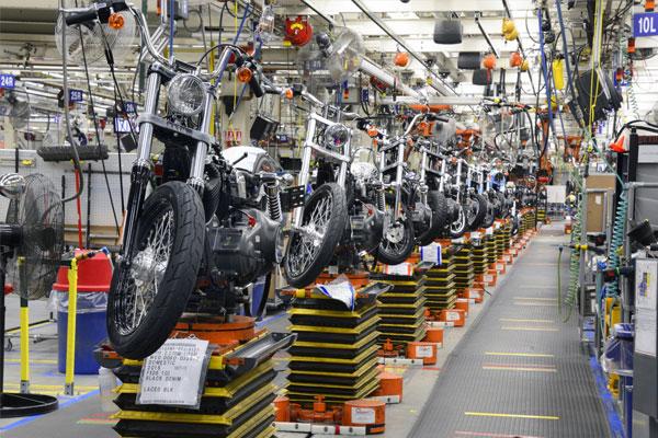 Dây chuyền sản xuất Harley Davidson