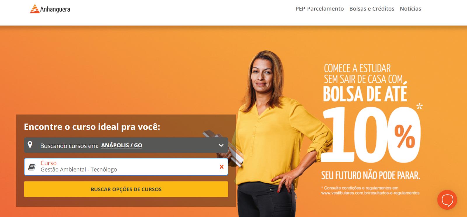 Anhanguera Anápolis: confira cursos e preços  no Portal Vestibulares
