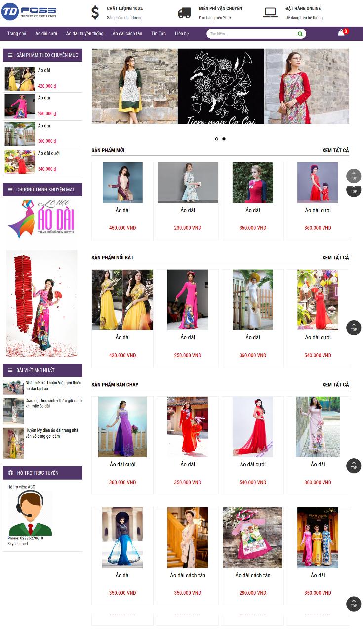 Hình ảnh sản phẩm là linh hồn của website bán hàng thời trang