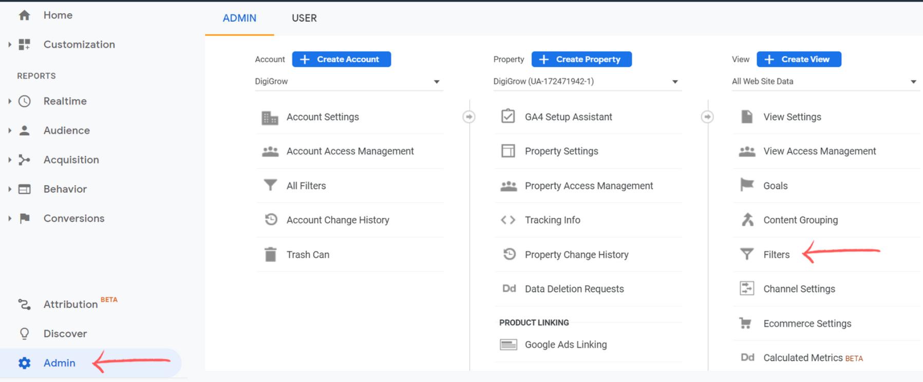Google Analytics For SEO - Setting Filters on GA