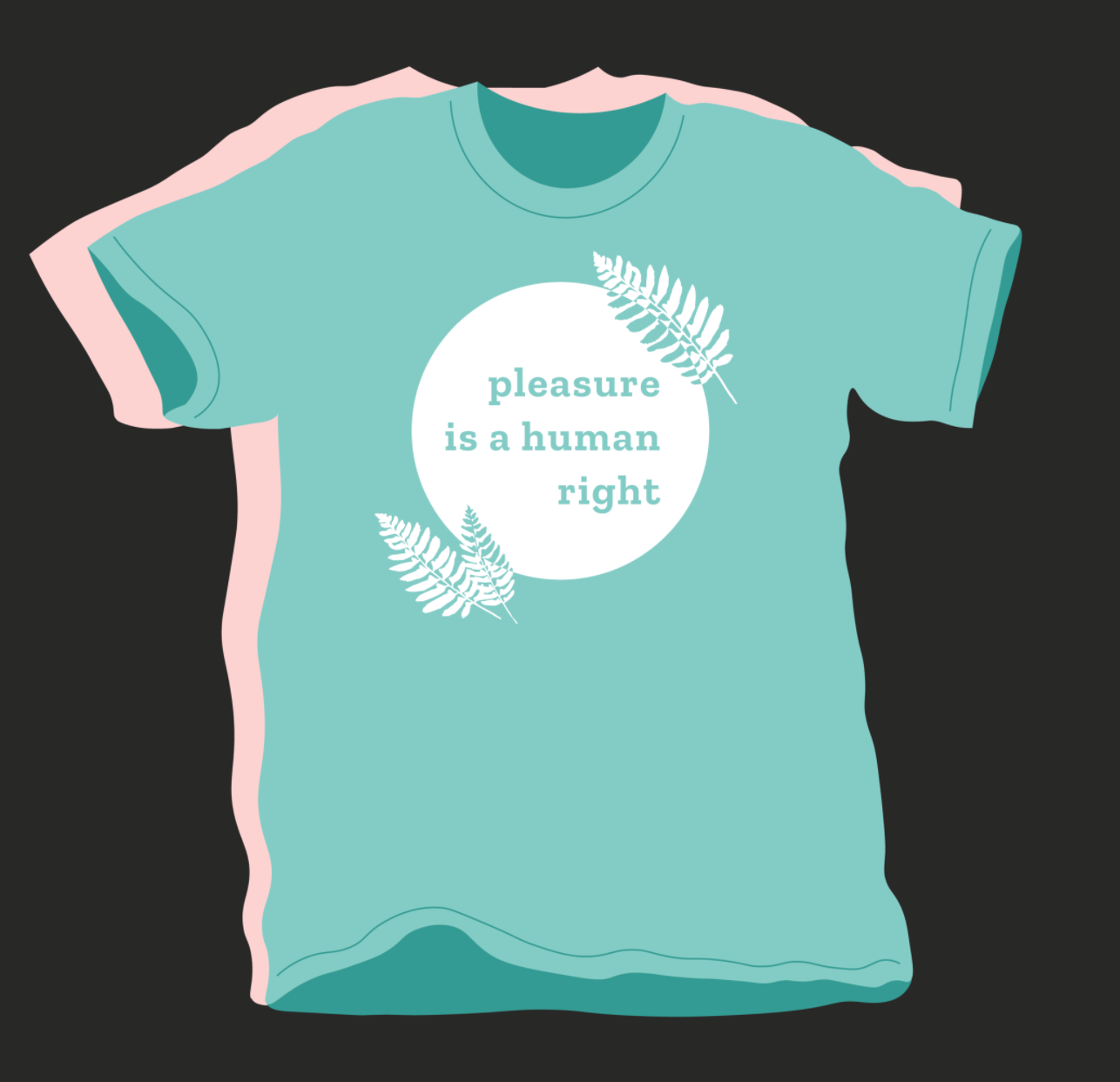 """T-shirt stating """"Pleasure Is A Human Right"""" and introducing sex toys in your relationship may be a great way get yours."""