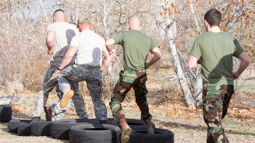 Getting In Shape - 8 Reasons to Get Involved In A Military Career