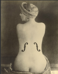 Man Ray (1890-1976)  Le Violon d'Ingres (Ingres' Violin)