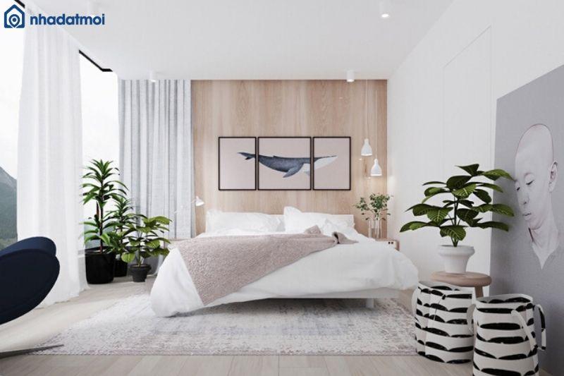 Trang trí phòng ngủ bằng tranh ảnh