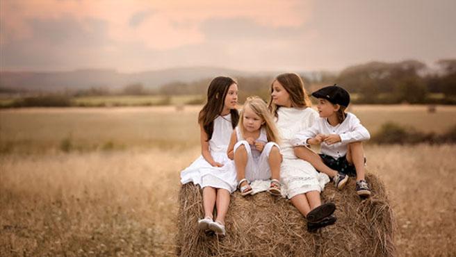 عکاسی از کودکان در طبیعت