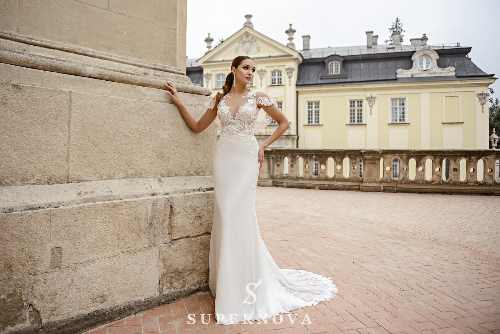 Очаровательные свадебные наряды оптом