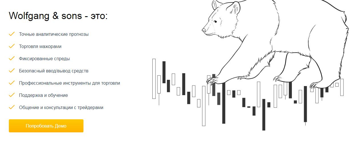 Обзор компании Wolfgang&Sons: анализ торговых предложений и отзывы клиентов