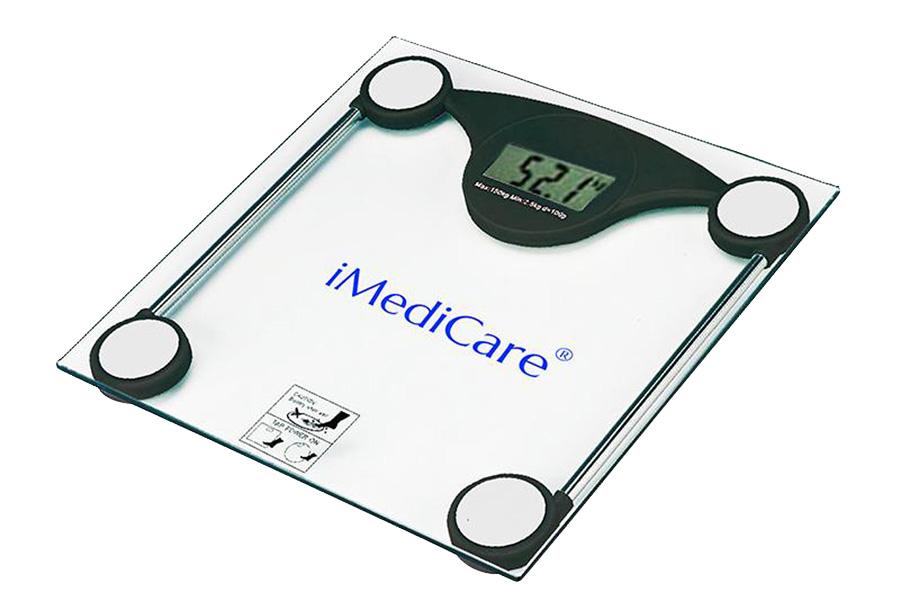Cân điện tử được sử dụng để xác định trọng lượng của vật