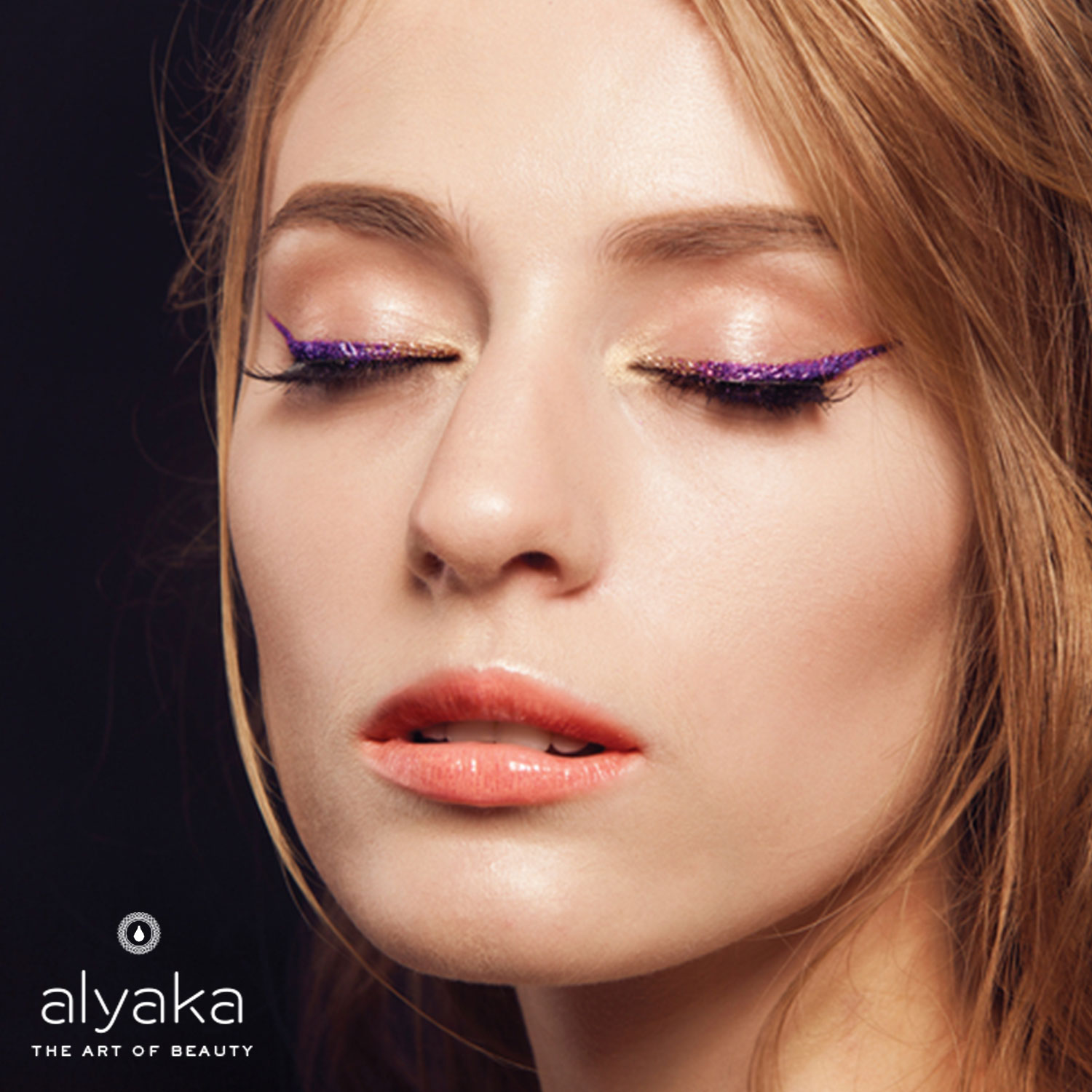 Purple Eyeliner Makeup Trends