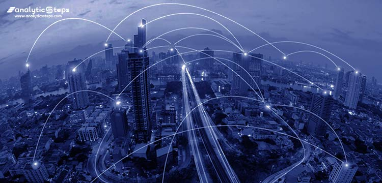 An image shows a digitally transformed area in terms of infrastructure, operations, cultures, etc. Analytics Steps, analyticssteps