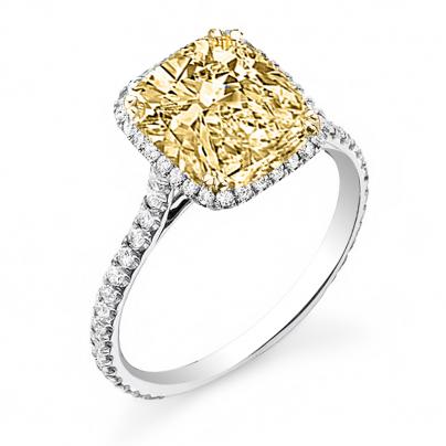 Yellow Diamond Engagement Rings