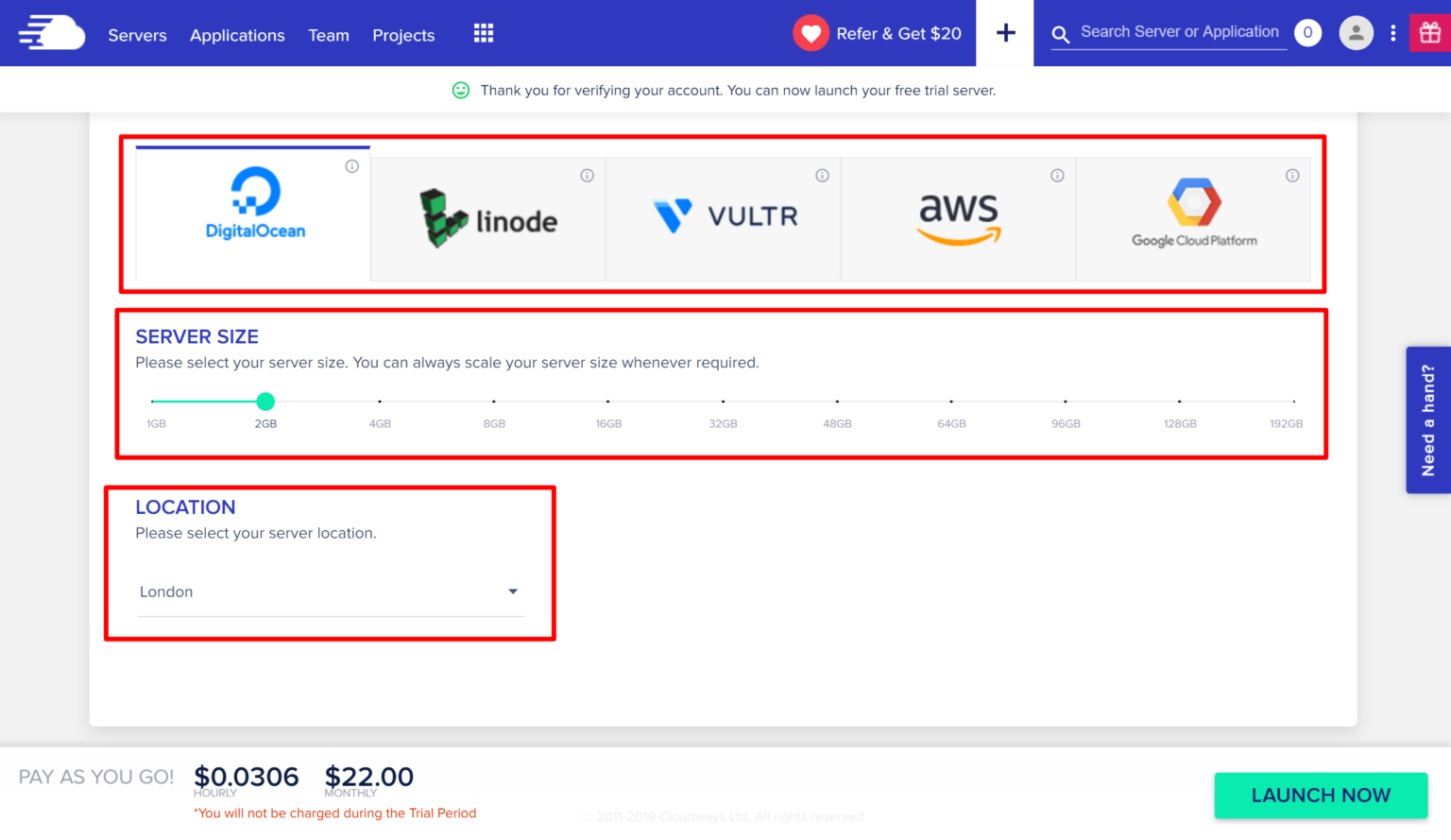 Fully managed cloud on Cloudways SEO hosting