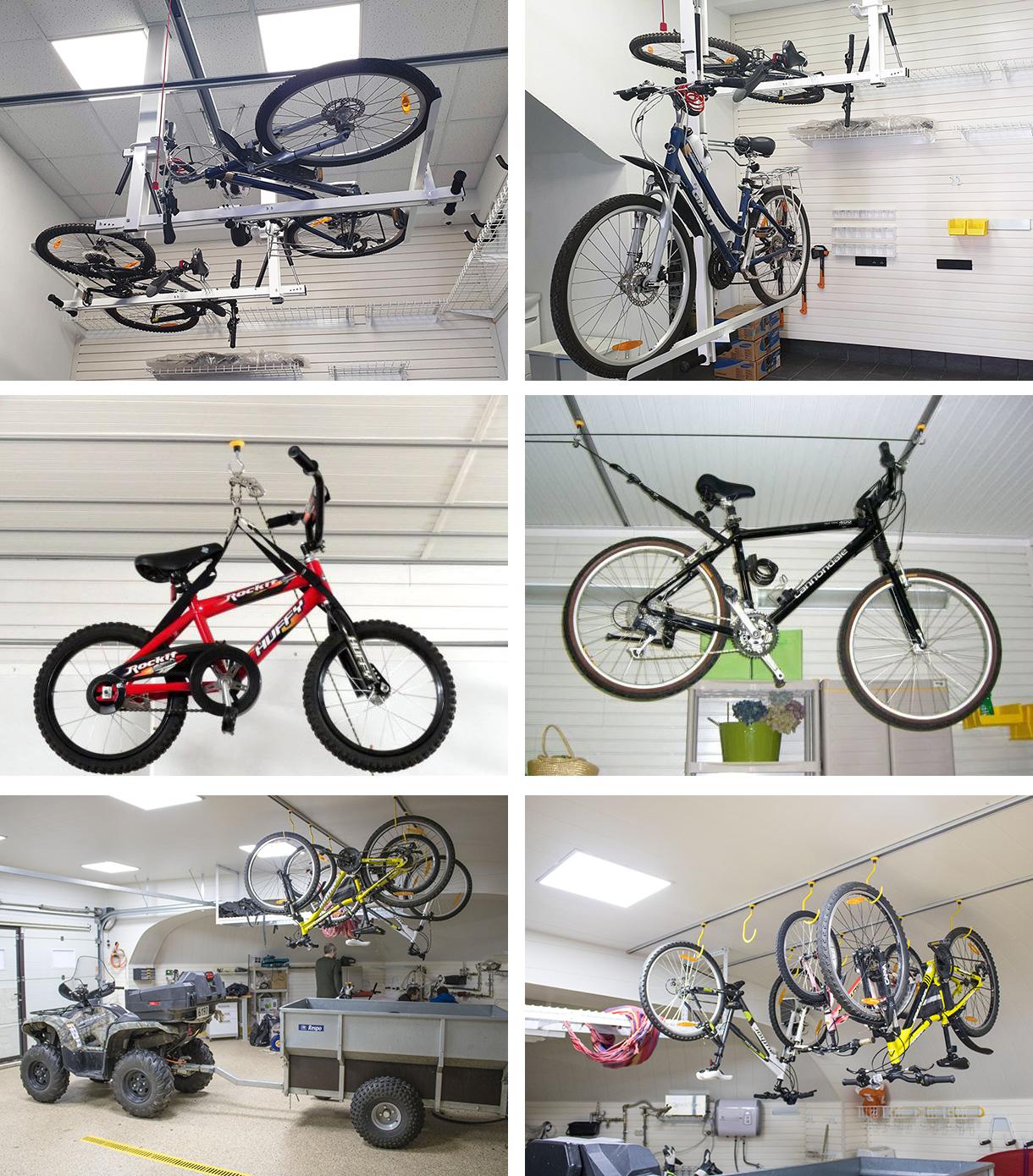 подставка для велосипеда на стену