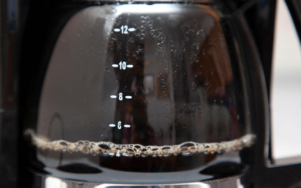 jug of brewed coffee