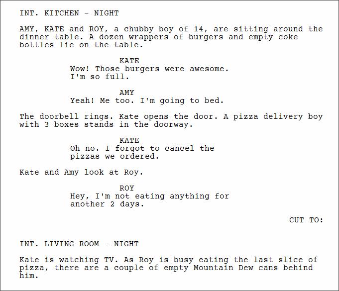 Using Cut To in a script