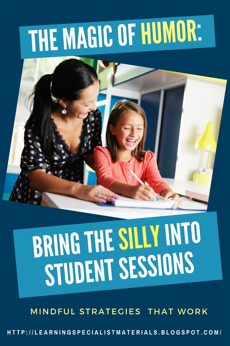 The Magic of Humor: Bring the Silly into Student Sessions